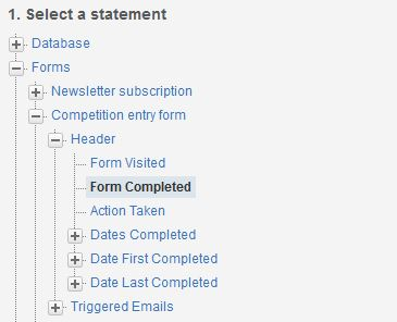 Filter on forms