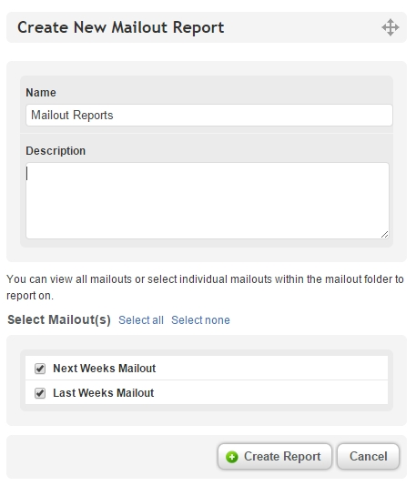 Include scheduled mailouts